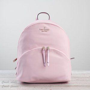 NWT Kate Spade Karissa Nylon Large Backpack Pink
